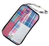 Fit 2 Win Madras Loop Wristlet Bag - MH