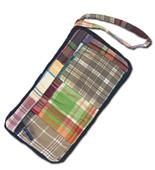 Fit 2 Win Madras Loop Wristlet Bag - MM