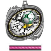 Hasty Hurricane Medal Soccer Bust-Out Insert
