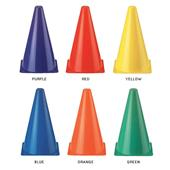 Martin Sports Rainbow Safety Cone Sets (Set of 6)