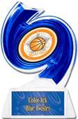 "Hasty Awards Basketball Hurricane Ice 6"" Trophy"