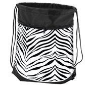 Pizzazz Zebra Print Stringpacks / Sling bags