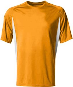 3e4873552026 A4 Youth Cooling Performance Color Blocked SS Crew | Epic Sports
