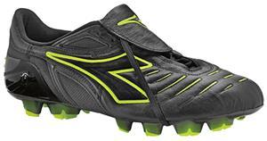 Diadora Maracana RTX 12 Soccer Cleats-Black Yellow - Soccer Equipment and  Gear 21975bf7d11