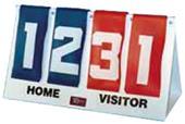 TC Sports Table Top Flip-A-Score Scoreboard