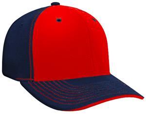b6eda07075927 Pacific Headwear 398F M2 Contrast Baseball Caps - Baseball Equipment   Gear