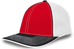 961f81a04d298 Pacific Headwear 404M Trucker Mesh Custom Baseball Caps - Baseball  Equipment   Gear
