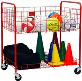 Champion Sports Back Ease Storage Cart