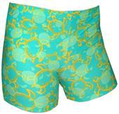 "Plangea Spandex 6"" Sports Shorts - Tuga Print"