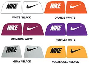 8809ef4e NIKE Eye Shield Decals - Assorted Colors - Football Equipment and Gear