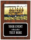 Hasty Awards Soccer Picture Plaque Trophy