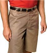 Edwards Mens Long Flat Front Chino Shorts
