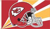 NFL Kansas City Chiefs 3' x 5' Flag w/Grommets