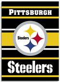 """NFL Pittsburgh Steelers 28"""" x 40"""" House Banner"""