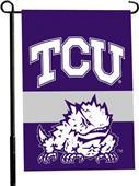 "COLLEGIATE TCU 2-Sided 13"" x 18"" Garden Flag"