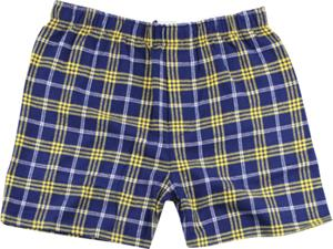 CNG NAVY/GOLD PLAID
