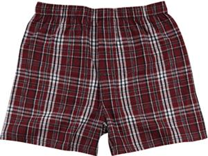 MRP MAROON PLAID