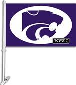 "COLLEGIATE Kansas State 2-Sided 11"" x 18"" Car Flag"