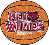 Fan Mats Arkansas State University Basketball Mat