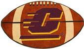 Fan Mats Central Michigan University Football Mat