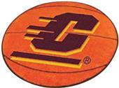 Fan Mats Central Michigan Univ Basketball Mat