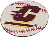 Fan Mats Central Michigan Univ Baseball Mat
