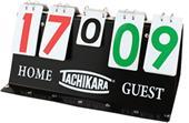 Tachikara Porta-Score Portable Flip Scoreboards