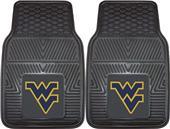 Fan Mats West Virginia Univ Vinyl Car Mats (set)