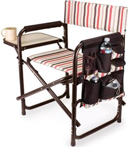E49183 Picnic Time Folding Sports Chair With Strap