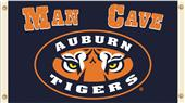 Collegiate Auburn Tigers Man Cave 3' x 5' Flag