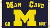Collegiate Michigan Man Cave 3' x 5' Flag