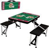 Picnic Time NFL San Francisco 49ers Picnic Table