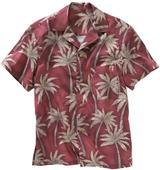 Edwards Unisex Tropical Palm Camp Shirt