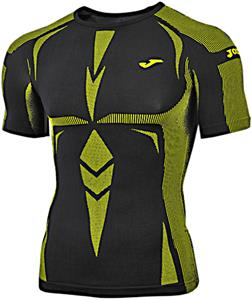 c4742f22 Joma Brama Emotion Short Sleeve Compression Shirt - Soccer Equipment and  Gear