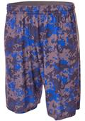 A4 Adult/Youth Printed Camo Performance Shorts