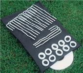 Bison Velcro Soccer Net Attachment Kit