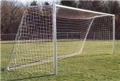 6.5x18x2x6 UNPAINTED Rd or Square Soccer Goals