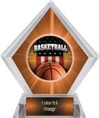 Patriot Basketball Orange Diamond Ice Trophy