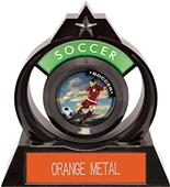"""Hasty Awards Eclipse 6"""" P.R. Female Soccer Trophy"""