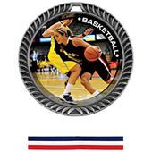 Awards Crest Basketball Medal P.R.Female M-8650B