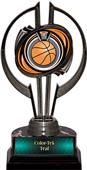 "Black Hurricane 7"" Eclipse Basketball Trophy"