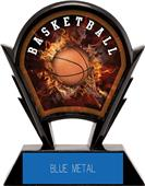 """Hasty Awards 6"""" Stealth Basketball Resin Trophies"""