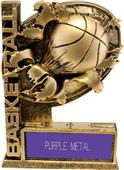 "Hasty Awards 6"" Bust-Out Basketball Resin Awards"