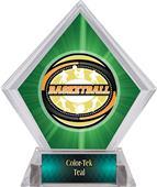 Award Classic Basketball Green Diamond Ice Trophy