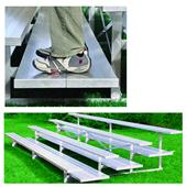 Jaypro All Aluminum 3 Row 21' Preferred Bleacher