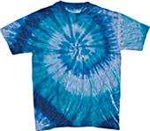 Dyenomite Ripple Tie Dye Short Sleeve T-Shirts