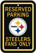 BSI NFL Pittsburgh Steelers Reserved Parking Sign