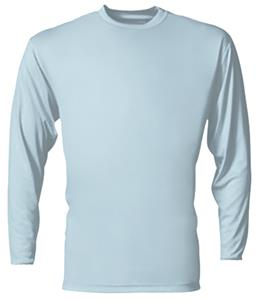4fdb8c0d A4 Cooling Performance Adult Long Sleeve Crew - Soccer Equipment and Gear