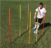 Breakdown - Outdoor Agility Poles (Set of 6)