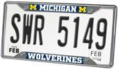 Fan Mats Univ. of Michigan License Plate Frame